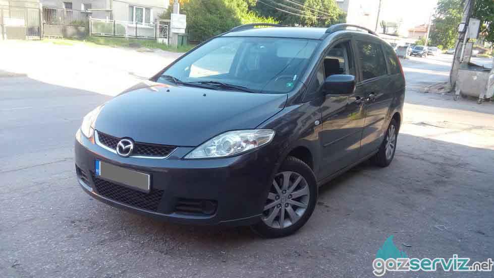 Mazda 5 с газова уредба Digitronic софия цена сервиз