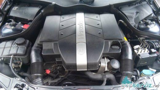 Газови инжекциони, монтаж - Mercedes C320 газ сервиз софия