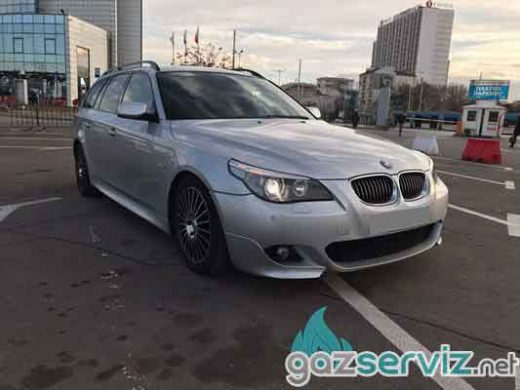 Газови инжекциони, монтаж - BMW E61 545 газ сервиз софия