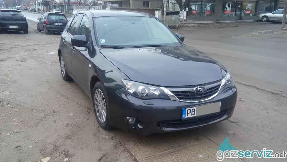 Газови инжекциони, монтаж - Subaru Impreza София