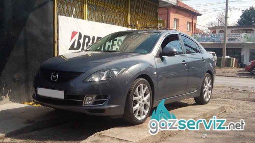 Газови инжекциони, монтаж - Mazda 6 2.5 - цена София сервиз