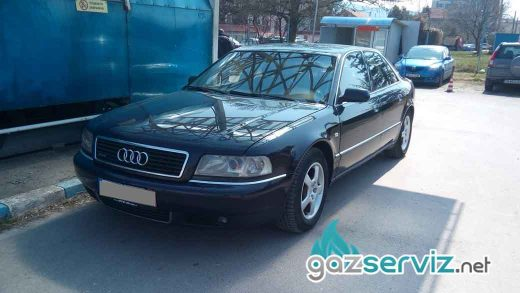 Газови инжекциони, монтаж -Audi s8 4.2 - цена София сервиз