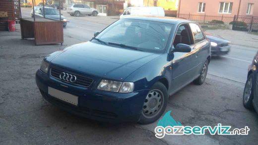 Audi A3 с газова уредба AG BLUE BOX от Газ Сервиз софия