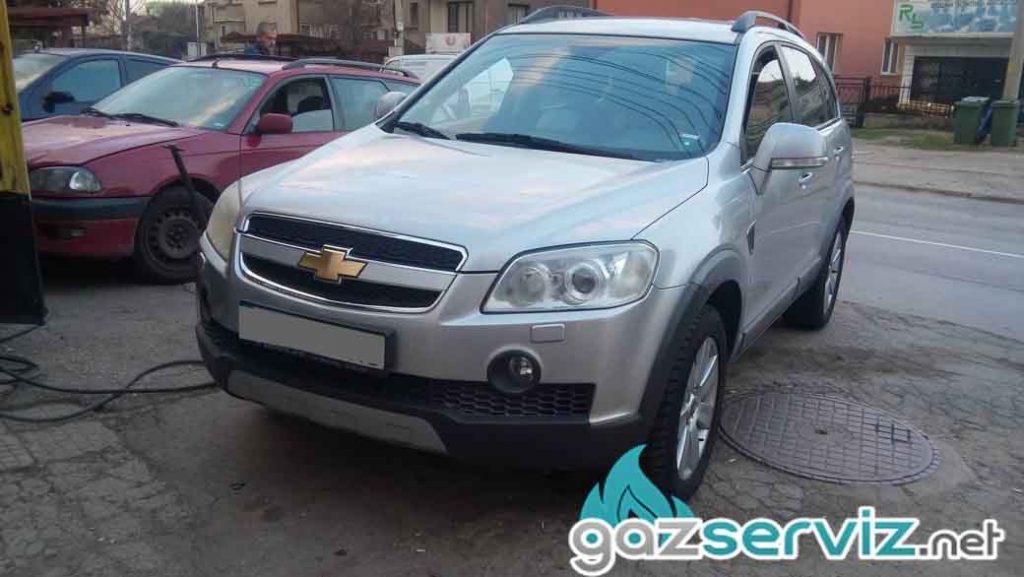 Chevrolet Captiva с газов инжекцион A.E.B REAGAS - софия - газ сервиз
