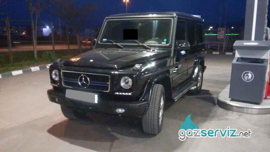 Газови инжекциони, монтаж -Mercedes G500 Газ сервиз София