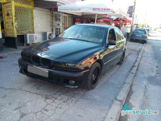 BMW 540 E39 с газова уредба Digitronic газ сервиз софия