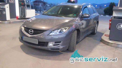 Mazda 6 с газов инжекцион A.E.B REAGAS - софия - газ сервиз