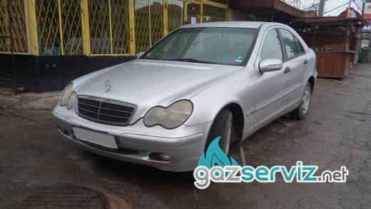 Газови инжекциони, монтаж - Mercedes C180 - цена София сервиз