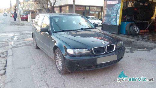 BMW 325 E46 със газова уредба Bardolini от Газ Сервиз софия