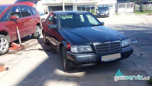 Mercedes C200 192 к.с. със газова уредба