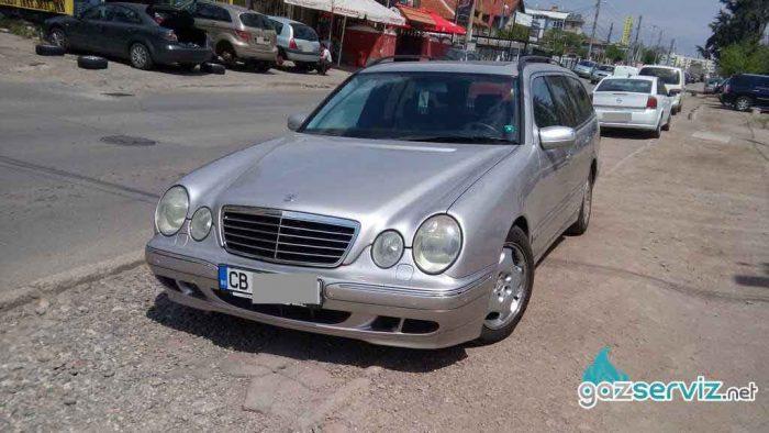 Газови инжекциони, монтажи - Mercedes E320 - цена София сервиз