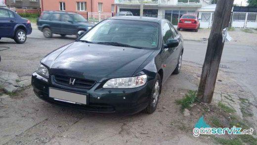 Honda Accord с газов инжекцион Agis - софия - газ сервиз