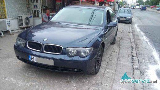 BMW 745 с газов инжекцион Lovato - софия - газ сервиз